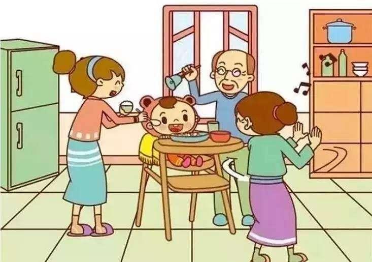 家庭关系融洽